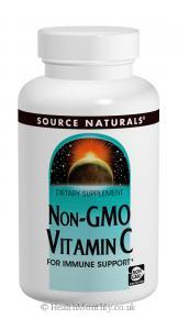 Source Naturals Non-GMO Vitamin C (1000mg, 240 Vegetarian Tablets)