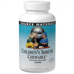 Source Naturals Wellness Children's Immune Chewable (Berry Flavour, 30 Wafers)
