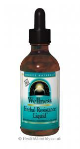 Source Naturals Wellness Herbal Resistance Liquid (59ml Liquid)