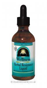 Source Naturals Wellness Herbal Resistance Liquid (59ml Liquid)