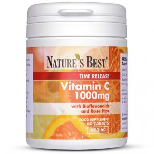 Vitamin C 1000Mg Time Release 60 Tablets