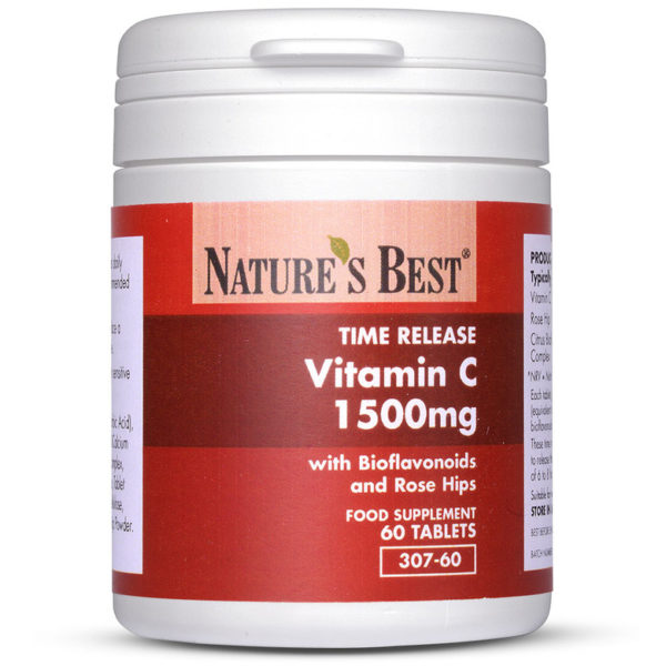 Vitamin C 1500Mg Time Release 60 Tablets