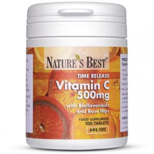 Vitamin C 500Mg Time Release 100 Tablets