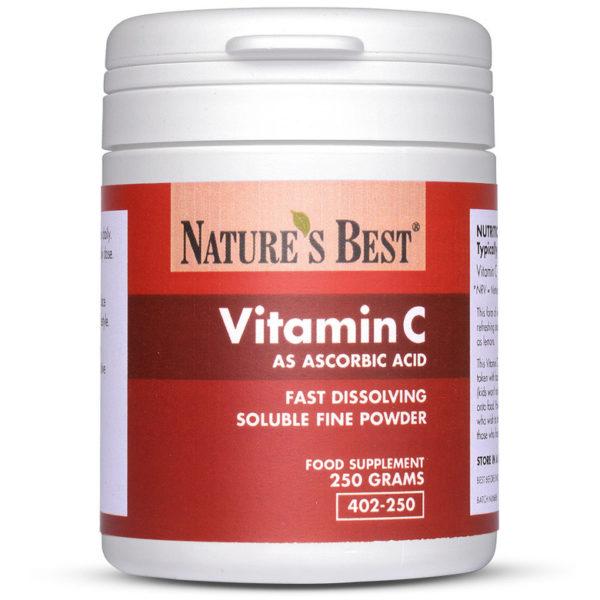 Vitamin C (As Ascorbic Acid Powder) 250 Powder