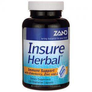 Zand Insure Herbal Immune Support (120 Vegetarian Capsules)