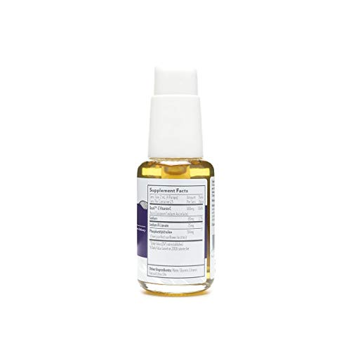 Quicksilver Scientific Liposomal Vitamin C with R-Lipoic Acid 50 ml - Dual Powered antioxidant