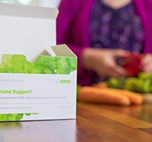 Nutrivitality Immune Support, Liposomal Vitamin C & B6, Selenium & Zinc for Your Immune System - 30x5ml sachets | Reduces Tiredness and Fatigue