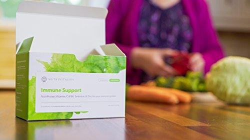 Nutrivitality Immune Support, Liposomal Vitamin C & B6, Selenium & Zinc for Your Immune System - 30x5ml sachets   Reduces Tiredness and Fatigue
