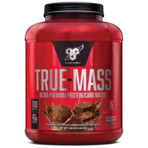 BSN True Mass | 2640g | Chocolate Milkshake | Weight Gainer | Weight Gainers | Ideal For Packing On Mass Quickly
