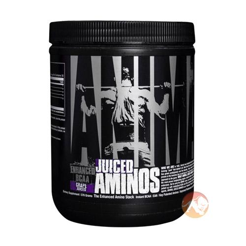 Universal Animal Juiced Amino-Free | 30 Servings | Grape | Recovery Aid | BCAA & Essential Amino Acids | BUY 1 GET 1 HALF PRICE