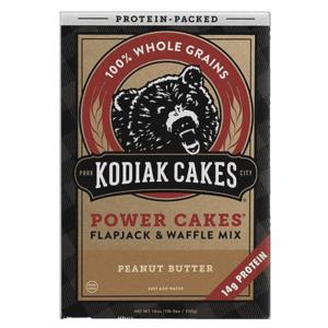 Kodiak Cakes Kodiak Power Cakes   Peanut Butter   Pre-Mixed Baking Mixes   Protein Desserts & Cooking Mixes   Easy To Make Baking Mix