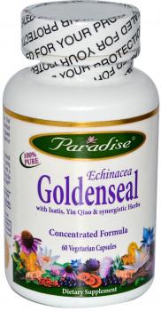 Paradise Herbs Echinacea Goldenseal Formula (60 Vegetarian Capsules)
