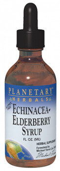 Planetary Herbals Bonus Echinacea-Elderberry (2+2 Bonus Bottle 118.28 ml)
